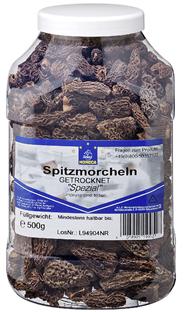 Horeca Select Spitzmorcheln, getrocknet 500 g Dose