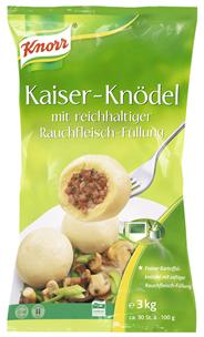 Knorr Kaiser-Knödel mit Rauchfleisch 6 kg Beutel