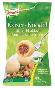 Knorr Kaiser-Knödel mit Rauchfleisch 2 x 6 kg Beutel