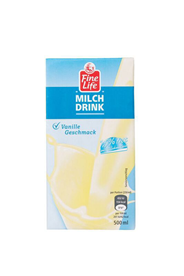 Fine Life H-Milch Drink Vanille 1,5 % Fett 500 ml Packung