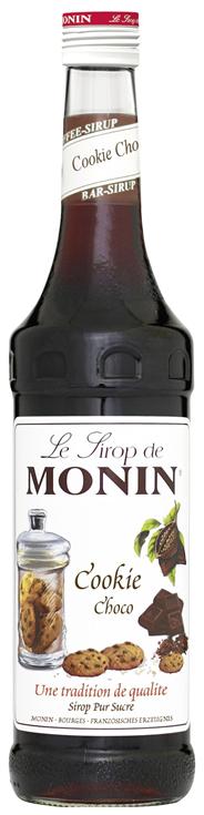 Monin Sirup Cookie Choco - 6 x 700 ml Flaschen