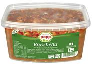 Popp Bruschetta Tomatenzubereitung mit Basilikum 1 kg Packung