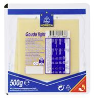 Horeca Select Gouda light Scheiben 10 x 10 cm Schieben, 30 % Fett, wiederverschließbar 500 g Packung