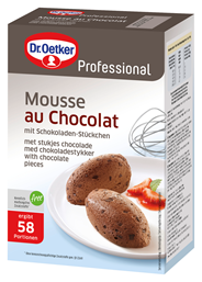 Dr. Oetker Mousse au Chocolat 25 % Kakao - 1,00 kg