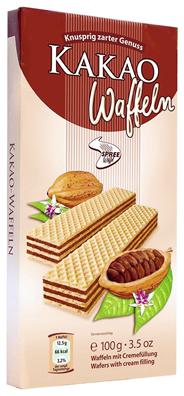 Spreewaffel Cremewaffeln Kakao 100 g Paket
