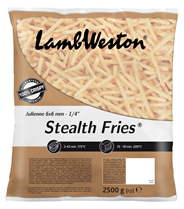 Lamb Weston Stealth Fries 6 x 6 mm 4 x 2,5 kg Beutel