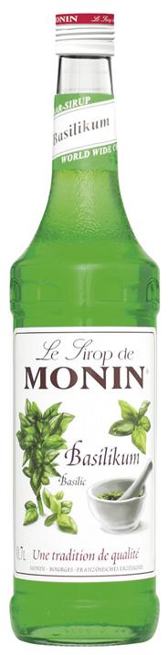 Monin Basilikum Sirup 6 x 0,7 l Flaschen