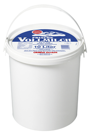 Omira Vollmilch 3,5 % Fett 10 l Eimer