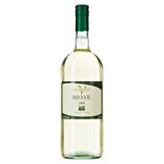 Valmarone Soave Weißwein DOC Qualitätswein aus kontrollierter Ursprungsbezeichung 1,5 l Flasche