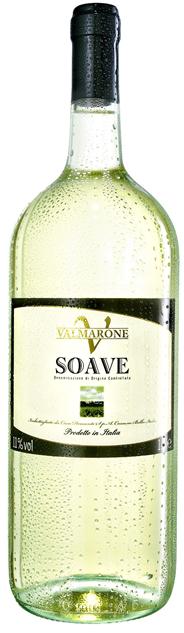 Valmarone Soave Weißwein DOC Qualitätswein aus kontrollierter Ursprungsbezeichung 6 x 1,5 l Flaschen