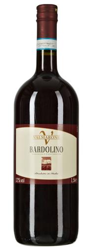 Valmarone Bardolino Rotwein DOC Qualitätswein mit kontrollierter Ursprungsbezeichnung 6 x 1,5 l Flaschen