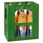 Glankrone Apfel-Direktsaft trüb, 100% Direktsaft, ohne Zuckerzusatz 6 x 1 l Flaschen