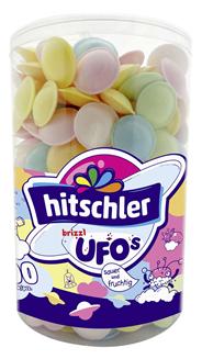 Hitschler Brause Flummis Frucht 400 Stück á 1,25 g 0,5 kg Dose