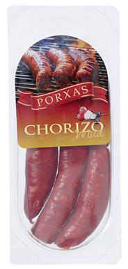 Porxas Chorizo Barbeque mild spanische Rohwurst, zum Braten 310 g Packung