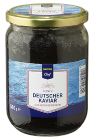 Horeca Select Deutscher Kaviar aus Seehasenroggen 500 g Packung