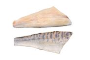 Zander-Filet tiefgefroren, mit Glasur, mit Haut, aus Binnenfischerei, ca. 500 g + Stücke 4,5 kg Karton