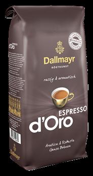 Dallmayr Espresso d'Oro ganze Bohnen 1 kg Beutel