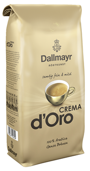 Dallmayr Crema d'Oro ganze Bohnen 1 kg Beutel