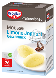 Dr. Oetker Professional Limone-Joghurt Mousse 1 kg Packung