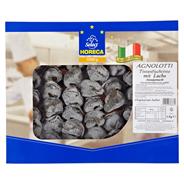Pastai in Brianza Agnolotti Nero di Sepia con Salmone schwarz gefärbte Agnolotti mit Lachsfüllung 1 kg Schale