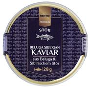 METRO Premium Sibirischer Beluga Kaviar - 28 g Glas