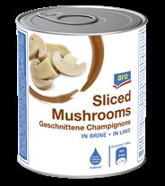 Aro Champignons 3. Wahl, geschnitten 6 x 850 ml Dosen