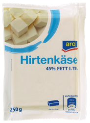 Aro Talos Balkankäse in Salzlake gereift, 45 % Fett 250 g Packung