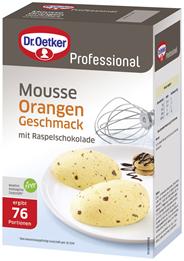 Dr. Oetker Professional Orange Mousse 1 kg Packung