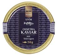 METRO Premium Ossetra-Kaviar aus Stör-Rogen - 50 g Packung