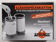 Spülboy - das Original Gläserspültabletten für alle Gläserspülgeräte & Thekenbecken, Inhalt für 192 Füllungen