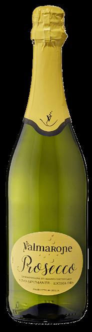 Valmarone Prosecco Spumante extra trocken 6 x 0,75 l Flaschen