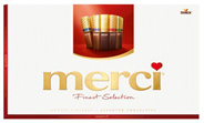 Merci Vielfalt Gefüllte und nicht gefüllte Schokoladen-Spezialitäten 64 x 400 g Schachteln