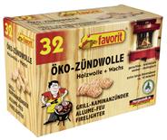 Favorit Öko-Zündwolle ca. 10 Minuten - 32 Stück