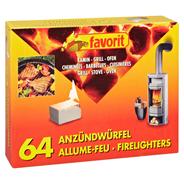 Favorit Anzündwürfel - 64 Stück