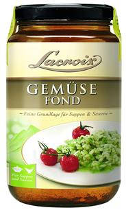 Lacroix Gemuese-Fond 6 x 400 ml Tiegel