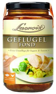 Lacroix Geflügel Fond 6 x 400 ml Tiegel