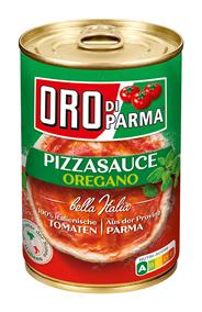 Oro di Parma Pizzasauce Oregano 425 ml Dose