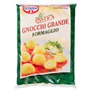 Dr. Oetker Gnocchi Grande Formaggio tiefgefroren, feine Kartoffelklößchen mit cremiger Füllung aus Frischkäse & aromatischen Kräutern 4 x 2,5 kg Beutel