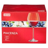 Rastal Piacenza Rotweingläser 200 ml, 6 Stück