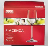 Rastal Spirituosenglas Piacenza 63 ml - 6 Stück