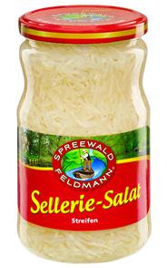 Spreewald-Feldmann Sellerie-Salat Streifen 720 ml Glas