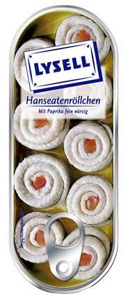 Lysell Hanseatenröllchen mit Paprika fein würzig 125 g