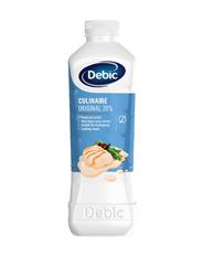 Debic Culinaire Original kochfeste Küchensahne 20 % Fett 6 x 2 l Flaschen