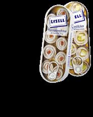 Lysell MSC Schwedenhappen mit feinen Gewürzen eingelegt 125 g