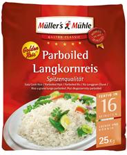 Müller´s Mühle Golden Reis 25 kg Tragetasche