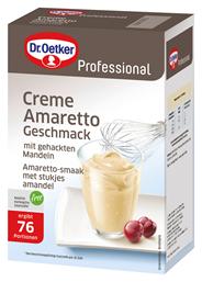 Dr. Oetker Professional Creme Amaretto-Geschmack 1 kg Faltschachtel