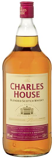 Charles House Scotch Whisky 40 % Vol. 6 x 1,5 l Flaschen