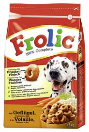 Frolic mit Geflügel Gemüse und Reis für Hunde 1,5 kg