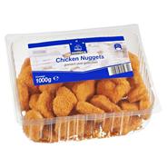 Horeca Select Chicken Nuggets paniert, vorgebraten, 40 Stück à 25 g ca. 1 kg Packung