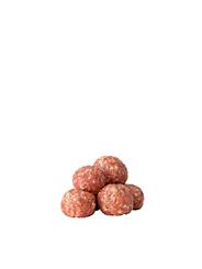 Salomon Foodworld Hit Meatball Classic tiefgefroren, roh, gewürzt, ca. 44-46 Stück á 22 g, aus Rindfleisch 10 x 1 kg Beutel